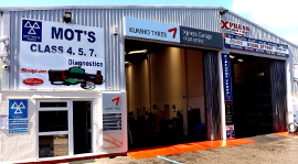 MOT garage in falmouth